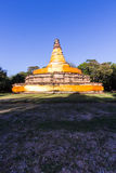Old pagoda in wiang tha kan,Ancient City in chiangmai, Thailand Royalty Free Stock Photos