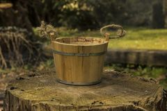 Old pail Royalty Free Stock Photo