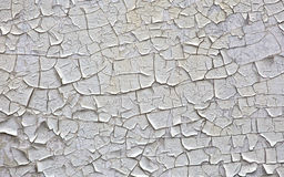 Old paint. In cracks on a wooden surface Royalty Free Stock Photos