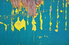 Old paint. Stock Photo