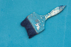 Old paint brush Royalty Free Stock Photos