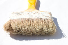 Old paint brush Stock Photography