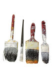 Old Paint Brushes Royalty Free Stock Photo
