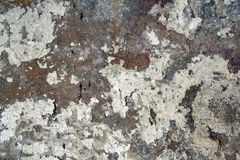 Old Paint on Concrete Texture Stock Photo