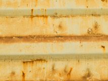 Old paint on the floor metal corroded texture Stock Images
