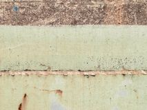 Old paint on the floor metal corroded texture Stock Photography