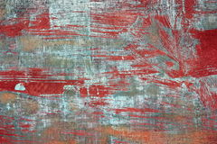 Old paint on metal board Royalty Free Stock Photo