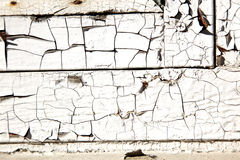 Old paint peeling Stock Photography