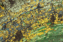 Old paint texture. On draft vintage surface. Close up view royalty free illustration