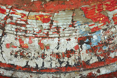 Old paint texture. On draft vintage surface. Close up view Stock Photo