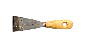 Old paint trowel Royalty Free Stock Images
