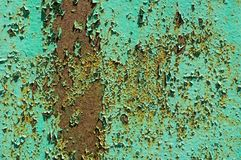 Old paint on the wall Royalty Free Stock Image