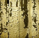Old paint on a wooden wall Stock Photos