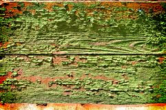 Old Painted Boards Royalty Free Stock Photography
