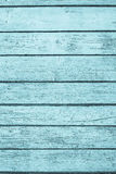 The old painted boards of azure color Royalty Free Stock Images