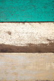 The old painted boards. The background of the old painted boards royalty free stock photo