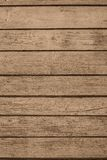 The old painted boards of brown color Royalty Free Stock Images