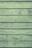 The old painted boards of green color Royalty Free Stock Photo