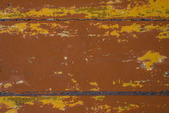 Old painted brown boards Royalty Free Stock Images