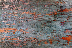 Old painted color wood. texture or background stock photography