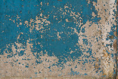 Old painted concrete with decal Royalty Free Stock Image