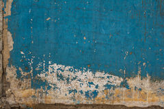 Old painted concrete with decal Stock Photos