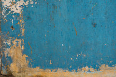 Old painted concrete with decal Royalty Free Stock Photos