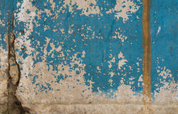 Old painted concrete with decal Stock Photo