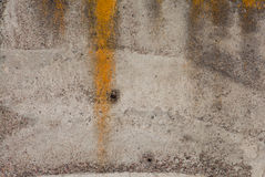 Old painted concrete with decal Royalty Free Stock Photo