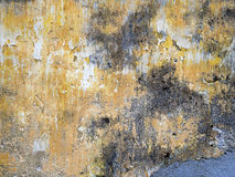Old painted concrete wall. Horizontal shot Royalty Free Stock Photos