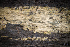 Old painted cracked peeling wood texture Royalty Free Stock Photo