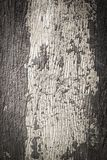 Old painted cracked peeling wood texture Stock Photography