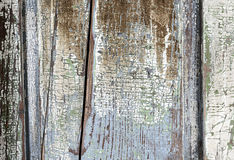 Old Painted Distressed Wood Background Royalty Free Stock Image