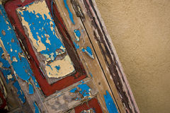 Old Painted Door Stock Images