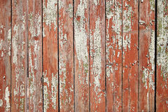 Old painted fence Stock Images