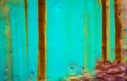 Old painted metal background Royalty Free Stock Image