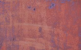 Stained metal rust texture Royalty Free Stock Photos
