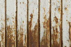 Old painted metal surface Royalty Free Stock Photos