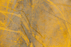 Old painted metal surface Stock Photography