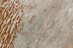 Old painted metal surface Royalty Free Stock Photography
