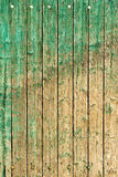 Old painted planks Stock Images