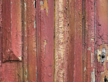 Old painted scratched and grunge wood Stock Image