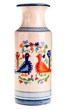 Old painted vase Royalty Free Stock Photography