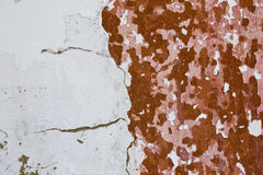 Old painted wall Royalty Free Stock Photos