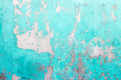 Old painted wall texture as grunge background Stock Photography