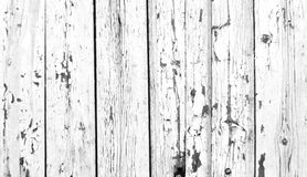 Old painted white boards Royalty Free Stock Images