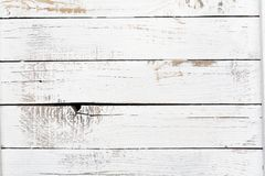 Free Old Painted White Wood Boards Background Texture Royalty Free Stock Photography - 164173017