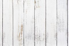 Free Old Painted White Wood Boards Background Texture Royalty Free Stock Photo - 168875265