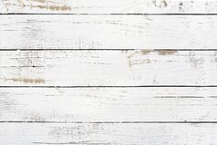 Free Old Painted White Wood Boards Background Texture Stock Photo - 170428300