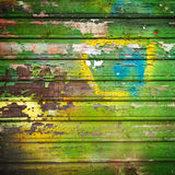 Old painted wood background Royalty Free Stock Images